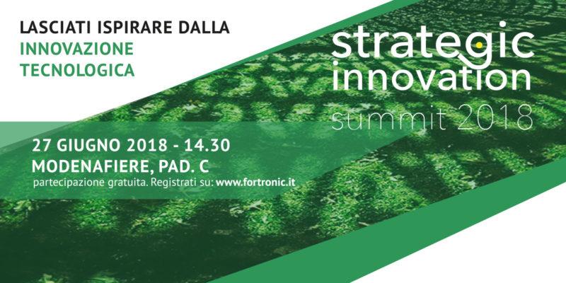 Fortronic Strategic Innovation Summit 2018