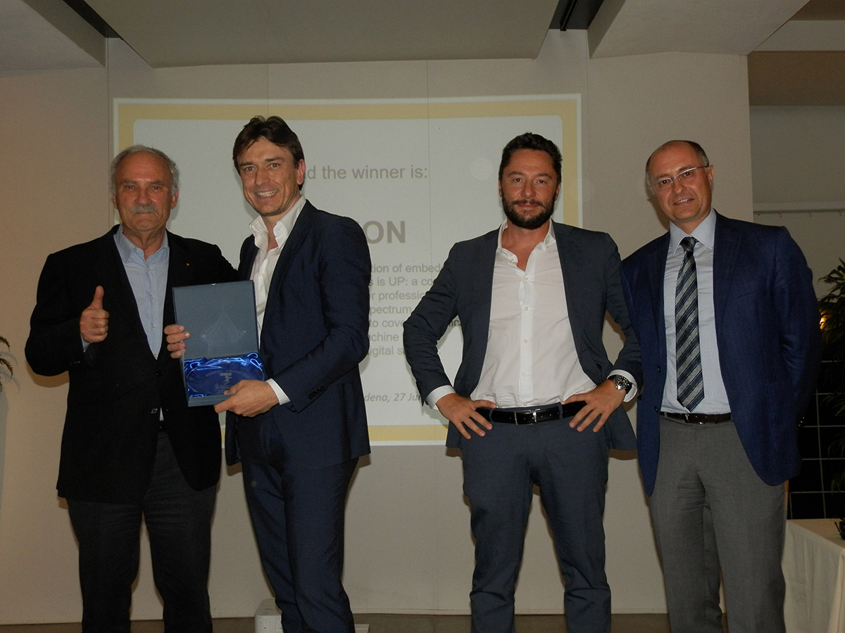 AEON: Fabrizio Del Maffeo | Vice President & Managing Director UP Bridge e Gianclaudio Lolli, Sales Manager South Europe