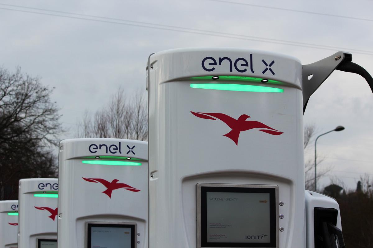 Infrastrutturs emobility ionity enelx