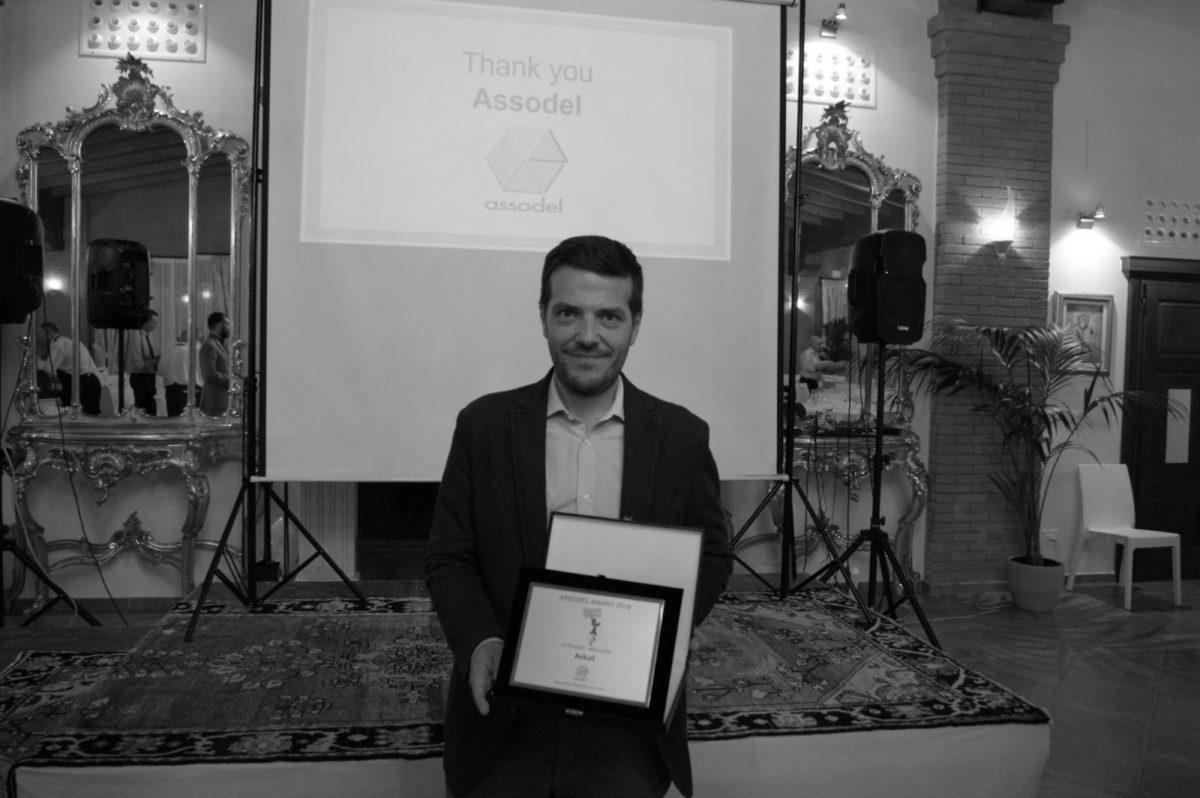 Consegna del premio Award Assodel a Askoll