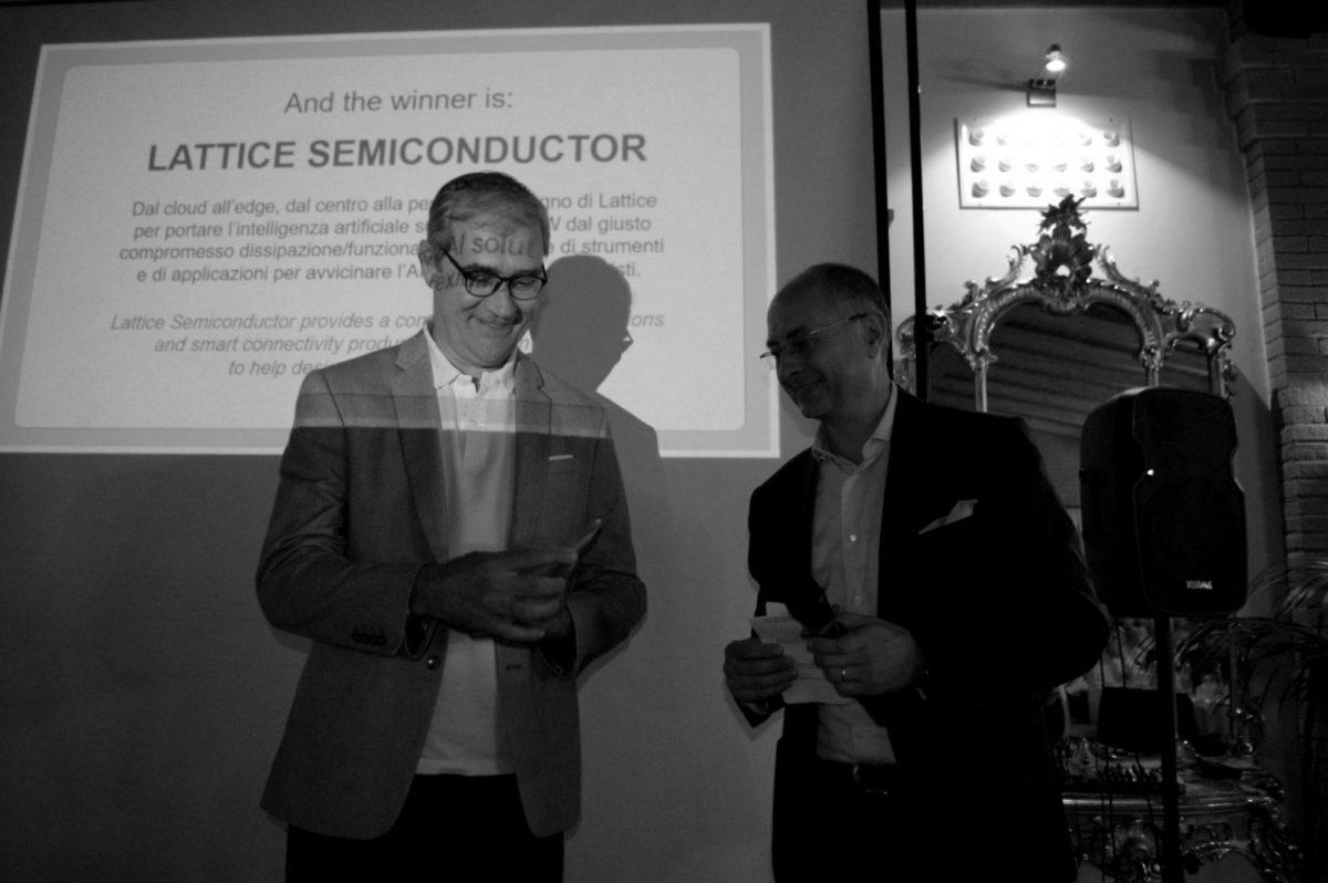 Consegna del premio Award Assodel a Lattice