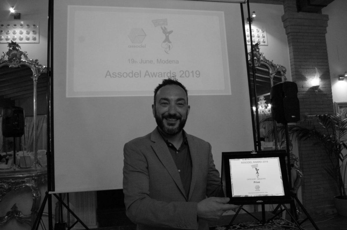 Consegna del premio Award Assodel a Privé