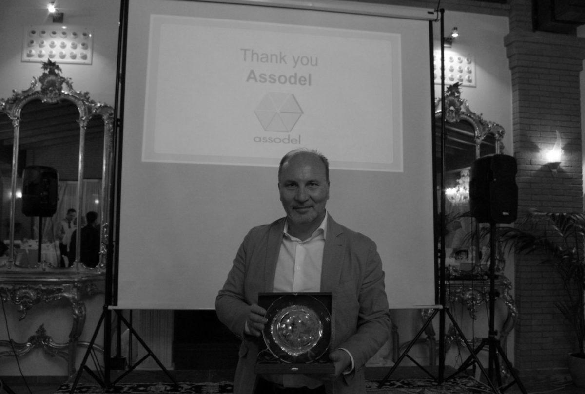 Consegna del premio Award Assodel a Rohm