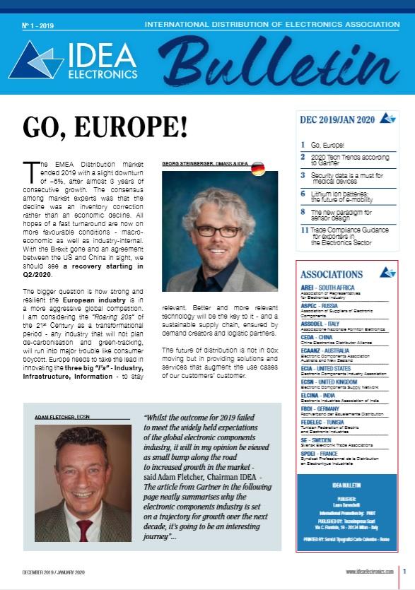 copertina newsletter bulletin